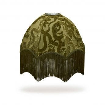 ANACONDA Oria Table Lampshade - Olive-Green