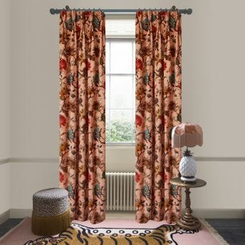 ARTEMIS Velvet Curtain - Blush