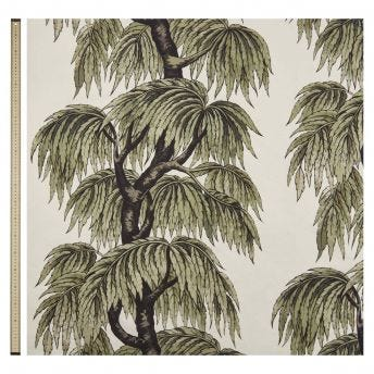 BABYLON Cotton Linen Blind - Papyrus Willow