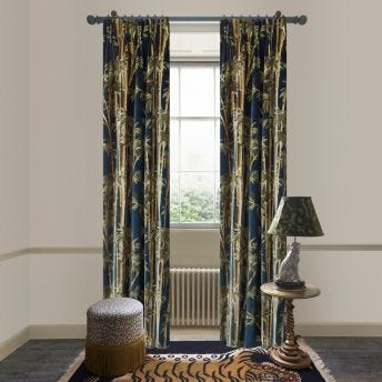 BAMBUSA Velvet Curtain - Midnight
