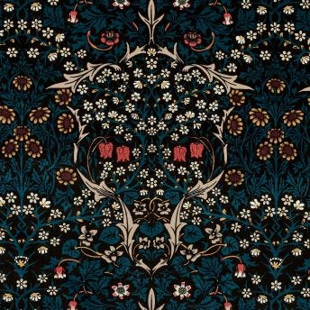 BLACKTHORN Velvet Blind - Teal