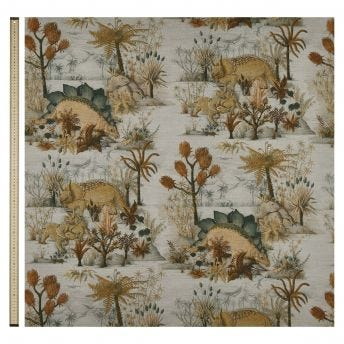 DINOSAURIA Cotton Linen Blind - Dusk