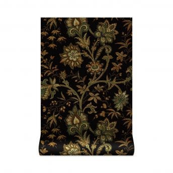 INDIENNE Wallpaper - Black