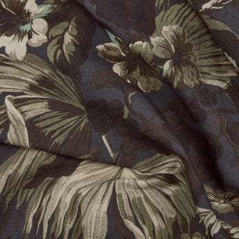 LIMERENCE Cotton-Linen Fabric - Ink