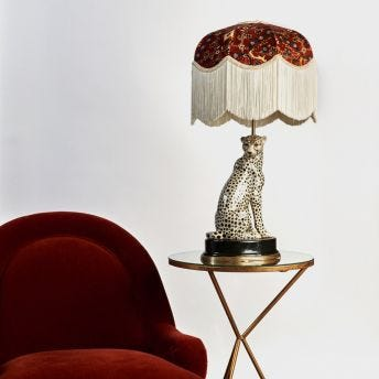 HOUSE OF HACKNEY Cheetah Lampstand - US