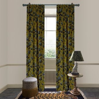OPIA Velvet Curtain - Bronze