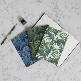 PALMERAL Set of Three A5 Flexi Notebooks