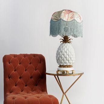 ANANAS Pineapple Lampstand - Off-White