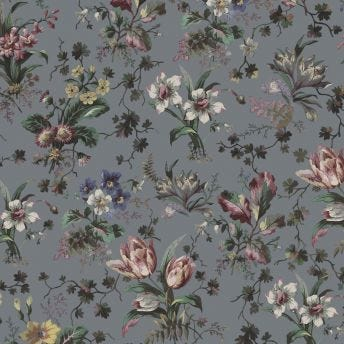 TULIPA Wallpaper - Pewter