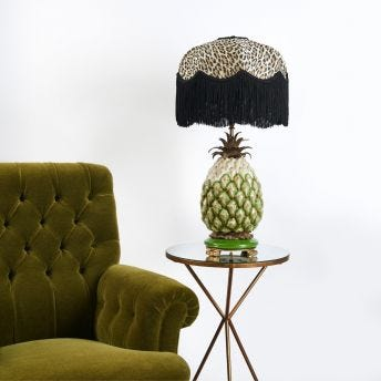 WILD CARD Tilia Table Lampshade - Butterscotch