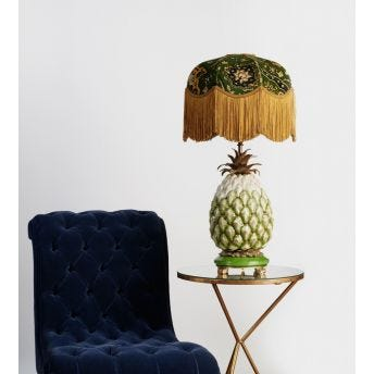 HOUSE OF HACKNEY Ananas Pineapple Lampstand - Natural - US Plug